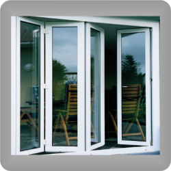 Ventana Plegable PVC KÖMMERLING